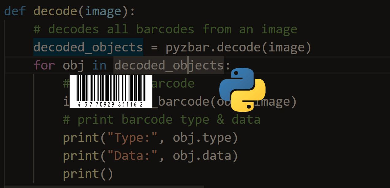 How to Make a Barcode Reader in Python