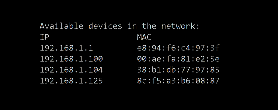 How to Make a Network Scanner using Scapy in Python