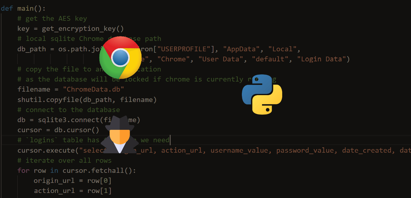 How to Extract Chrome Passwords in Python