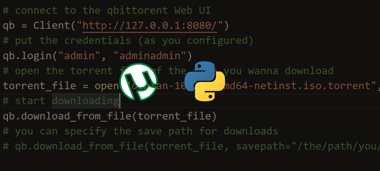 How to Download Torrent Files in Python