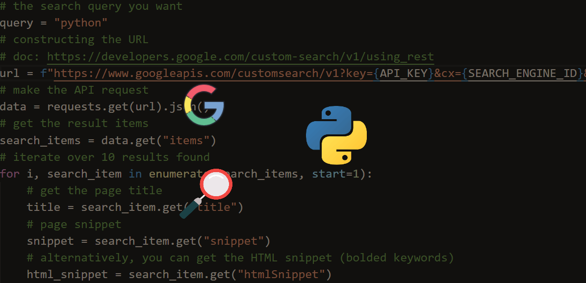 How to Use Google Custom Search Engine API in Python