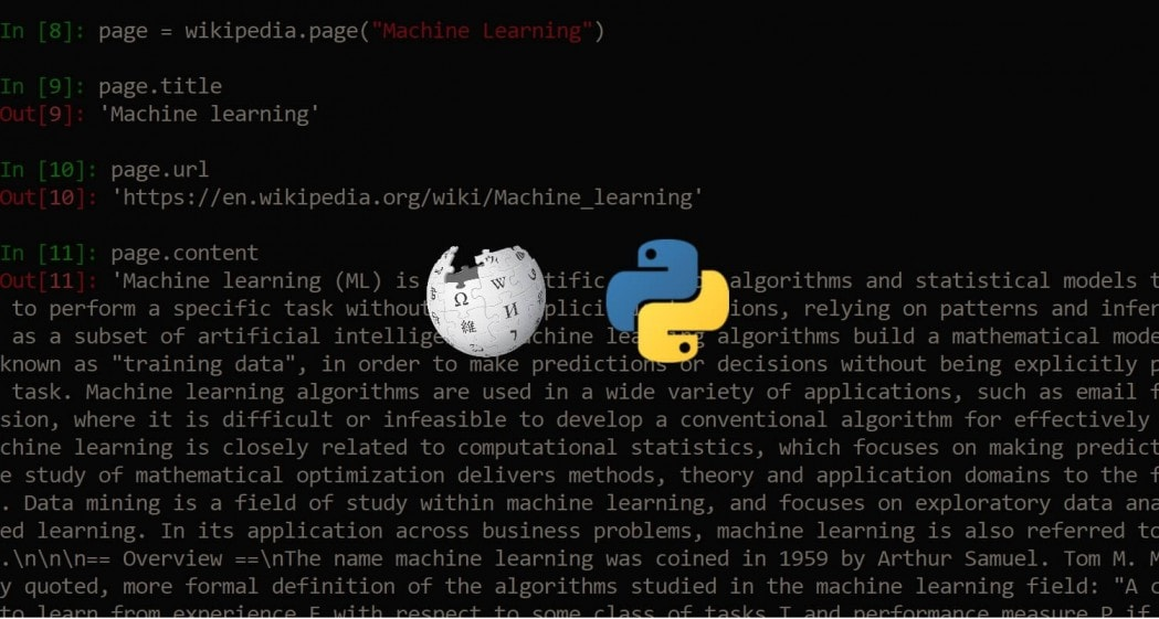 How to Extract Wikipedia Data in Python