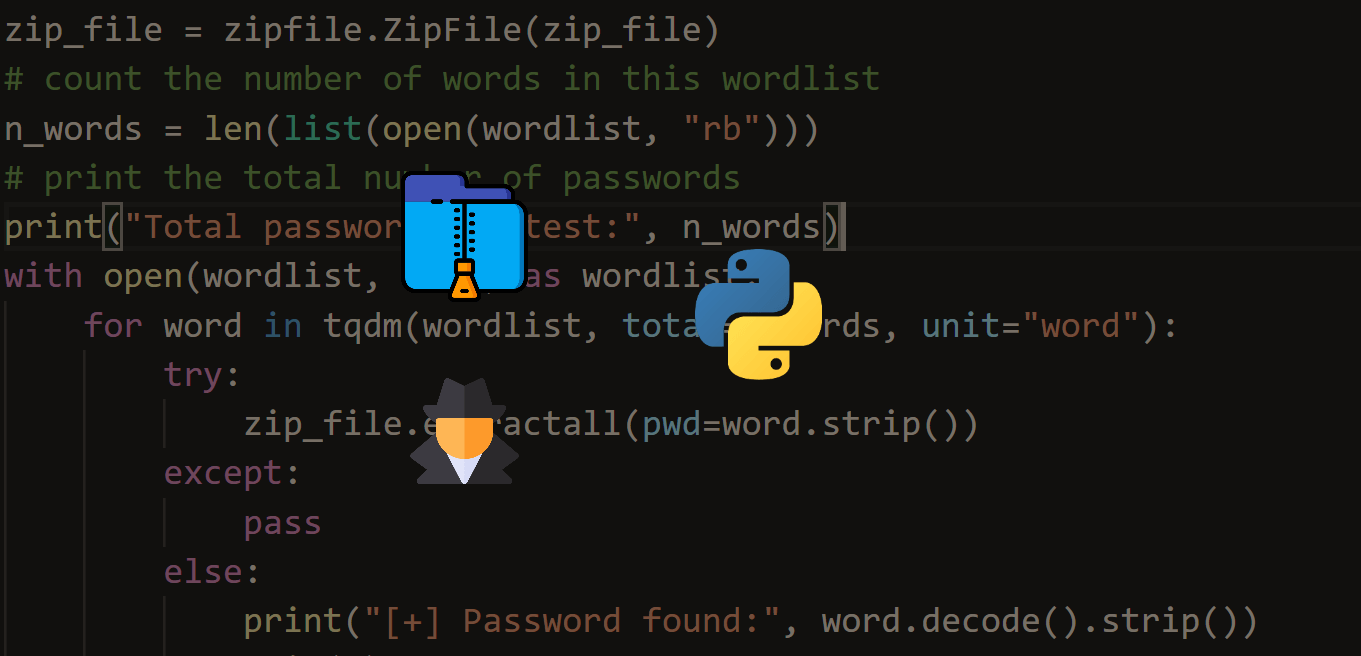 How to Brute Force ZIP File Passwords in Python